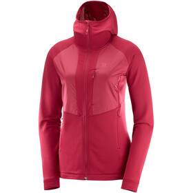 Salomon Grid FZ Midlayer Women rio red